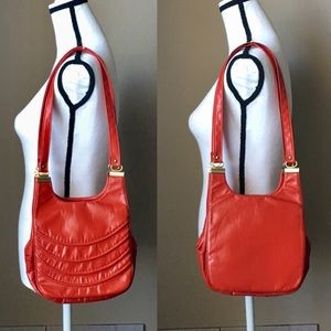 Vintage 1970s/1980s Bright Red Purse